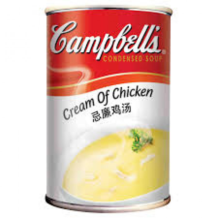 CAMPBELLS  CONDENSED CHICKEN SOUP 300G