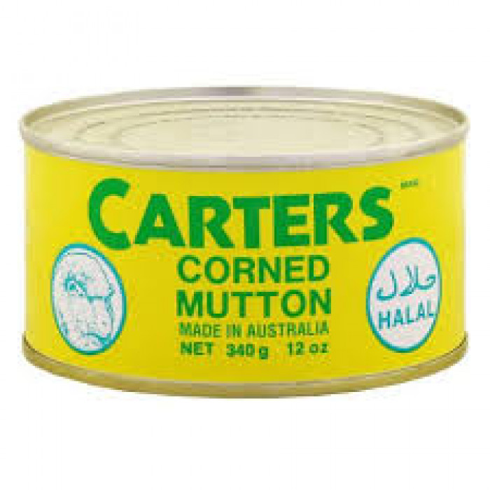 CARTERS CORNED MUTTON 340G
