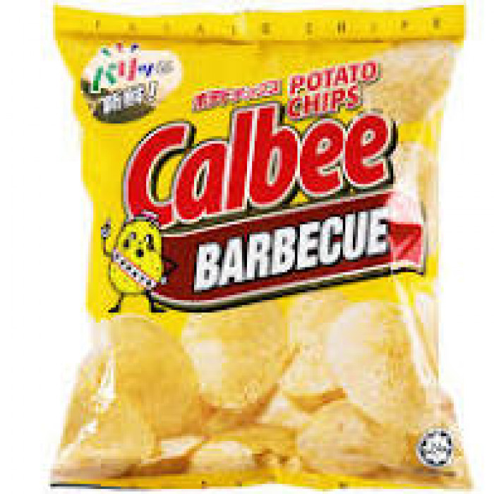 CALBEE CHIPS BBQ 80G