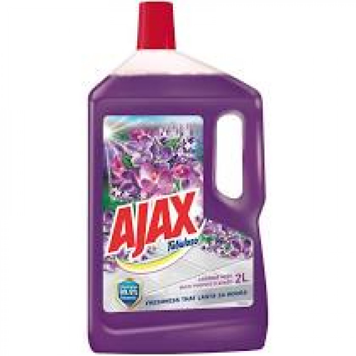 AJAX FLOOR CLEANER  LAVENDER 2L