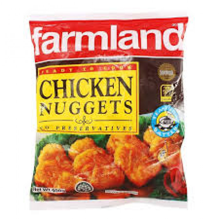 FARMLAND CHICKEN NUGGETS 400G