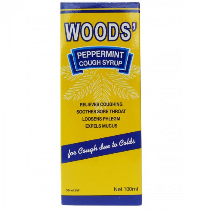 WOODS CHILDRENS COUGH SYRUP 100ML